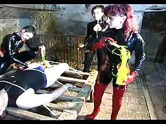 Girls gets involved in the bdsm action