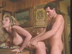 Vintage porn with hot blondie