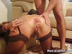 Amateur french wife anal fisting