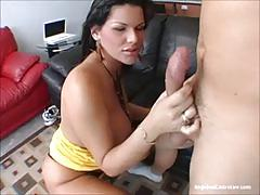 Hardcore pussy fuck with busty babe