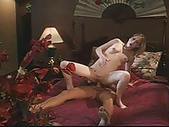 The most sexiest interracial scenes ever as blonde fucked by hunk