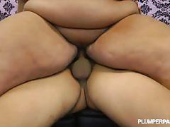 Busty bbw fucks rides a hard rod of meat