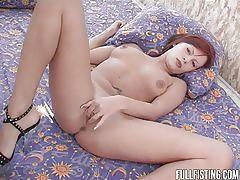 Redhead gets fisted & fucked