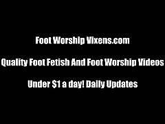 Worship our feet or you're getting kicked out