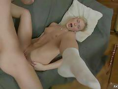 Dupree is drilling blonde irina deep in her ass.