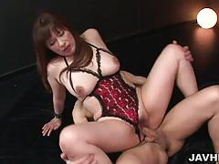 Gorgeous milf got her hands tied up and fucked
