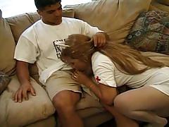 Latin nurses cums to a guy's resuce