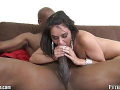 Charley chase screams from fuck of huge black cock