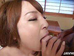 Hikaru shiina's blow job leads to a creampie