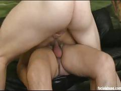 Hot lilian tesh enjoys some intense face fucking.
