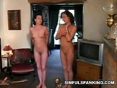 brunette, bdsm, bondage, fetish, spanking, black hair, painful