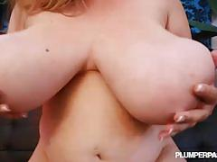 April mckenzie gives rides big cock