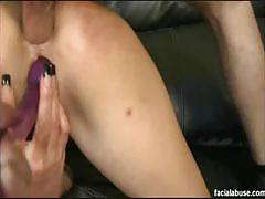 Mature cougar jenny hamilton face fucked big time
