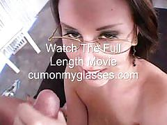Teen sucking cock and taking a cumshot facial