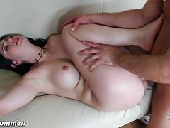 Hot college girl angell summers gets blasted hard