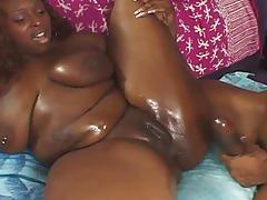 Bbbw oils up and gets hardcore fucked by big cock