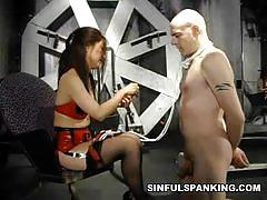 brunette, asian, big dick, bondage, stockings, slave, mistress, amateur, fetish, spanking, latex, humiliation, femdom, reality, cock torture, big cock, high heels