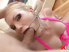 Incredible deep throat for jenny
