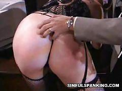 Natasha sweet spanks felix vicious' sweet firm ass