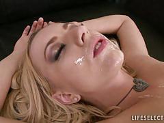 Enchanting blonde fucked in hot pov