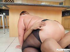 Big butt bbw kandi kobain fucked in stockings