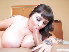Busty bbw gets fuced wildly