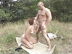 Let's outdoor fuck hey my grandma is a whore