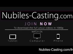 Nubiles casting - hardcore porn audition for fresh newcomer