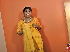Indian girl rupali masturbates with a vibrator