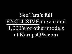 Tara star fingering her wet pussy
