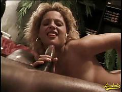 Massive cock for luscious white cunt
