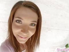 Givemepink closeup dildo play with alexis brill