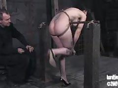 Hard tied: natalie minx begging for mercy