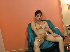 Pregnant indian whore gets naked