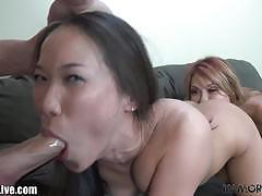 ava devine, kalina ryu, brunette, asian, hardcore, blonde, milf, babe, doggy style, toys, threesome, latina, vibrator, mom, ffm, gorgeous, beauty, black hair, spoon, latin