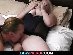 Bbw blonde gets banged deep and hard