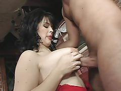 Curvaceous mom kristi klenot is banged hard