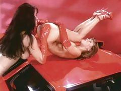 asia carrera, jill kelly, brunette, asian, big tits, busty, lesbian, big boobs, huge tits, fetish, black hair, latex, fake tits, eating pussy, licking pussy