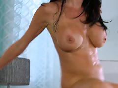 veronica avluv, brunette, big tits, busty, babe, big ass, reverse cowgirl, doggy style, cowgirl, beauty, round ass, glamour, missionary