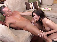 Sensual brunette kendall karson gets banged hard