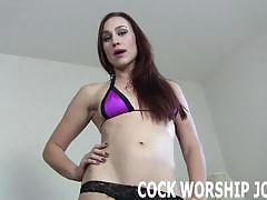 Cock-sucking training provided by mistresses