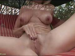 jenna covelli, big tits, blonde, milf, busty, pussy, big ass, outdoor, masturbation, solo, booty, mom, shaved pussy, big boobs, huge tits, balcony, masturbating, striptease