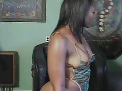 Extreme hardcore sex with a horny ebony.