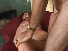 Big boobs milf with older man