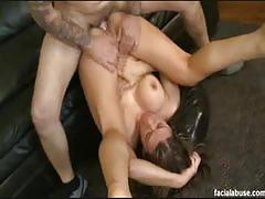 leena sky, brunette, big dick, hardcore, big tits, cumshot, facial, anal, milf, busty, double penetration, pussy, big ass, reverse cowgirl, doggy style, threesome, tight pussy, mom, cowgirl, shaved pussy