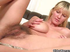 brunette, big tits, blonde, milf, busty, masturbation, toys, dildo, solo, posing, mom, naked, big boobs, mature, huge tits, hairy pussy, teasing, stepmom, striptease