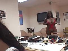 Fat ebony bitches sucking a white cock
