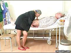 Old czech couple hospital fuck