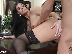 India summer fucked on an office desk
