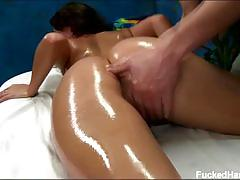 Erotic oily massage for nova brooks